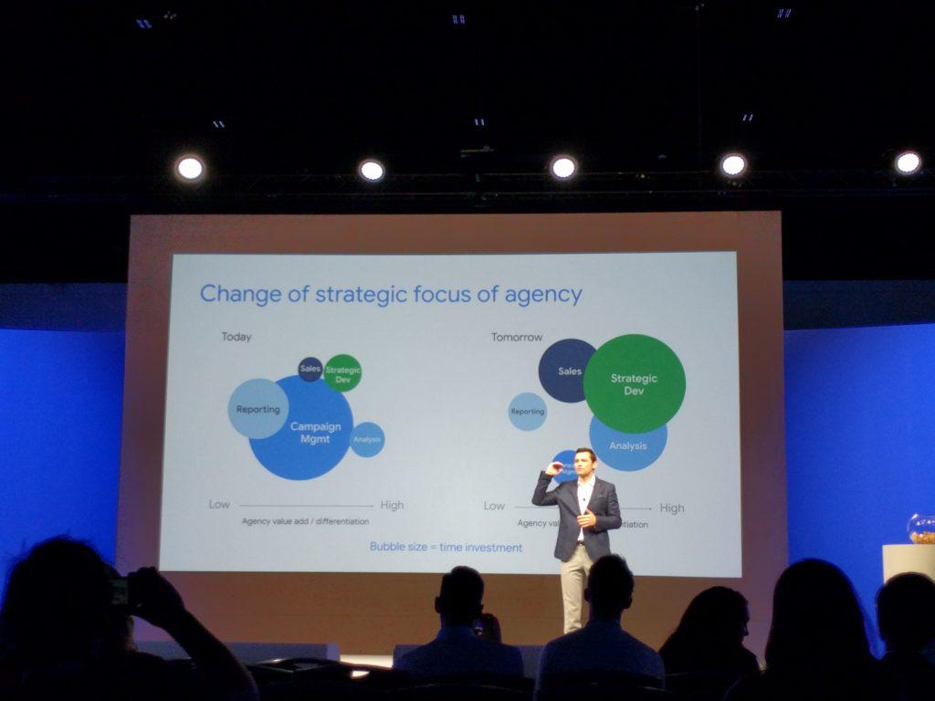 Change of strategic focus of agency