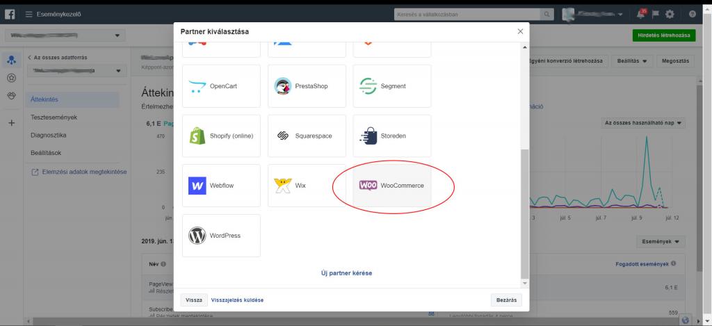 Facebook Pixel beállítása WooCommerce partner integrációval